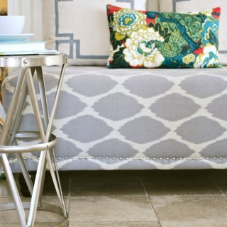DIY Upholstered Bench | West Elm Essex Bench Knockoff
