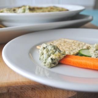 Healthy{er} Spinach Artichoke Dip