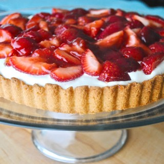 Strawberry Mascarpone Tart
