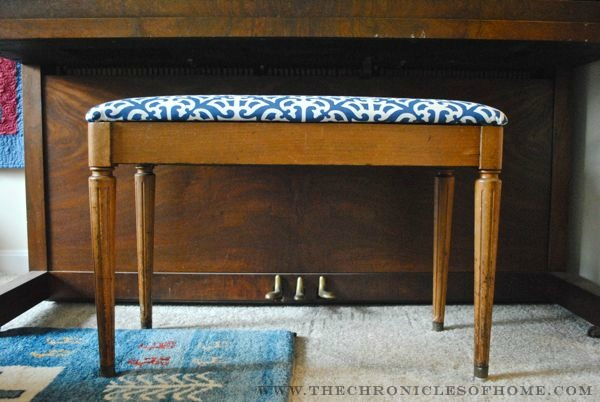 Tutorial How To Reupholster A Bench With Rounded Corners
