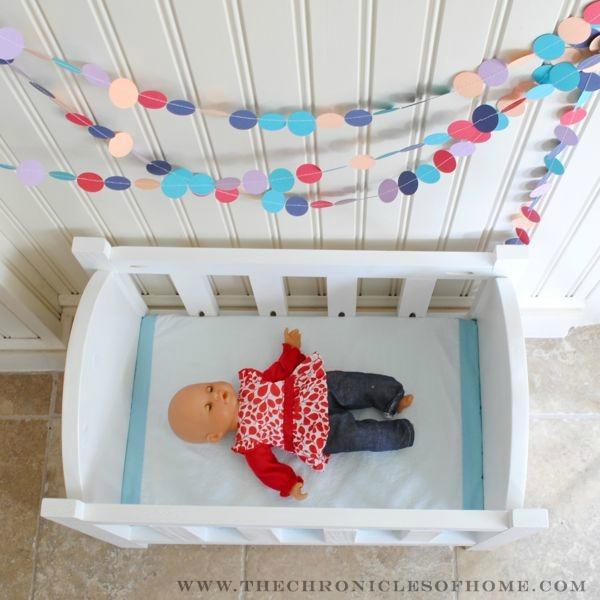 Diy Doll Crib The Chronicles Of Home