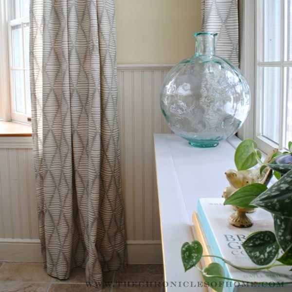 Epic New Kitchen Curtains uthe Non DIY Way