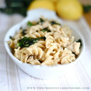 Pasta with Tuna, Lemon, and Kale