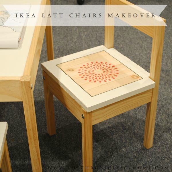 Toddler Chair And Table Set Ikea: Ikea Latt Chairs Makeover