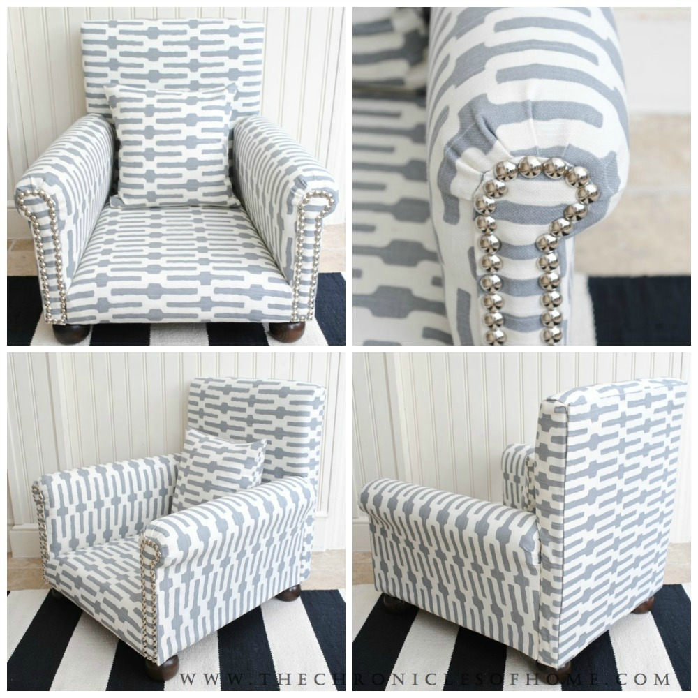 DIY Childs Upholstered Chair The Chronicles of Home – Upolstered Chair