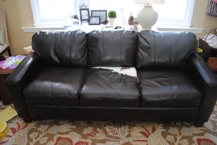 DIY Sofa Reupholstery | Sources and Tips - The Chronicles ...