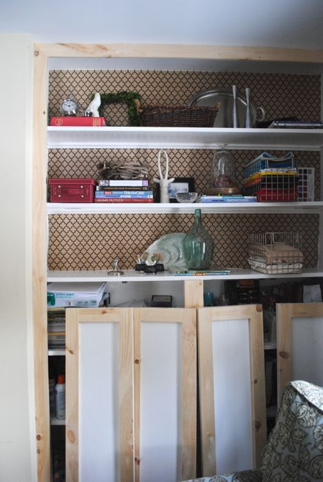 Diy shaker style cabinets the chronicles of home for Caulking kitchen cabinets