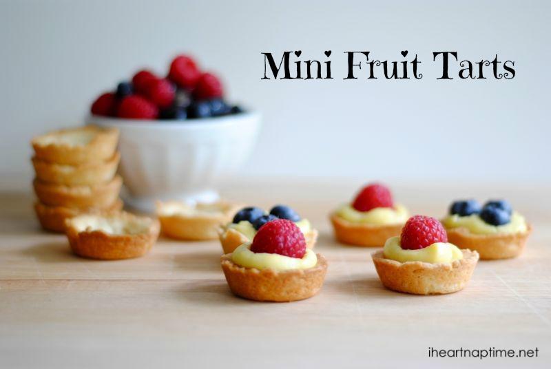 healthy fruit smoothies to make at home mini fruit tart recipe