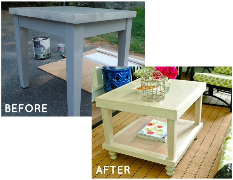 Fabulous Since you aren ut likely to have exactly these same tables I wanted to show you how you might mimic this look using a very simple very widely available