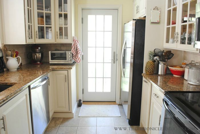 Nice Our cabinets were in great shape and are really well made so instead of replacing them entirely we replaced a few of the doors with glass paneled doors and