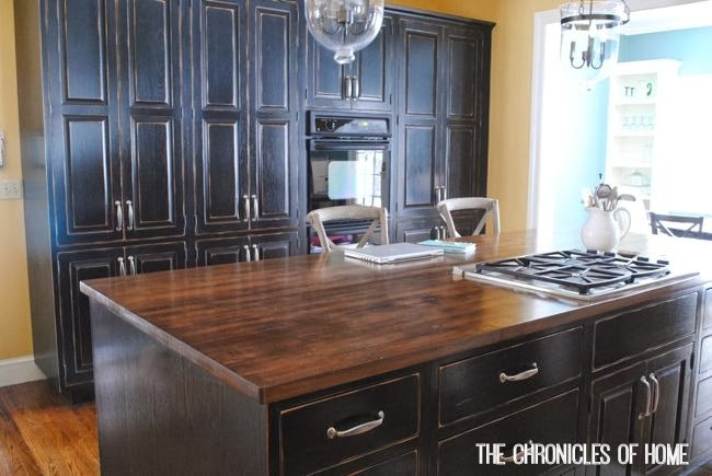 how to stain and seal butcher block counters. Black Bedroom Furniture Sets. Home Design Ideas