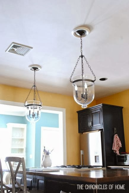 {Tutorial} How to Convert Recessed Lights to Pendants - The Chronicles of  Home - Tutorial} How To Convert Recessed Lights To Pendants - The