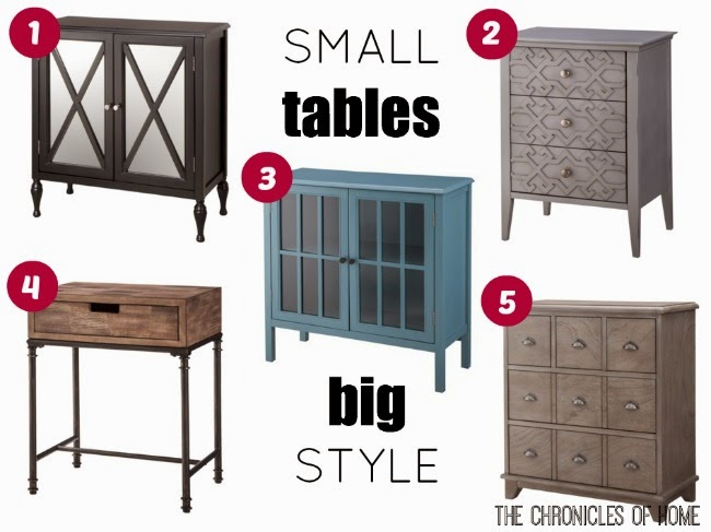 Small Tables, Big Style