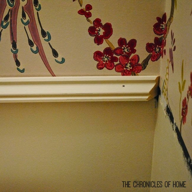 Chair Rail Upside Down Part - 45: How To Install A Compound Chair Rail For A Custom Look