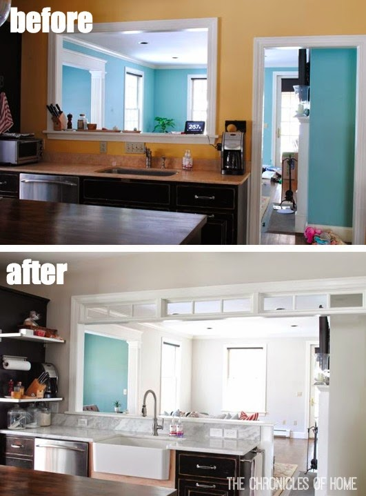 Kitchen Part 3 - Wall Color - The Chronicles of Home