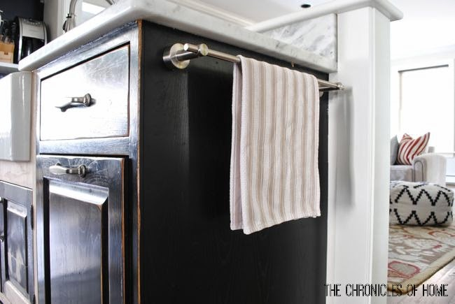 Maximize vertical space in your kitchen with these simple ideas from The Chronicles of Home