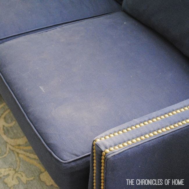 How To Dye A Faded Sofa The Chronicles Of Home