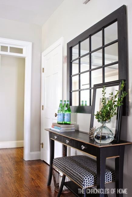 Easy steps for making over a generic console table