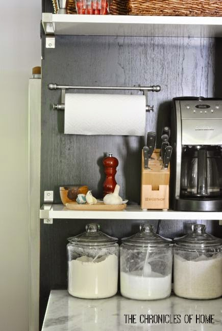 DIY WallMounted Paper Towel Holder The Chronicles of Home