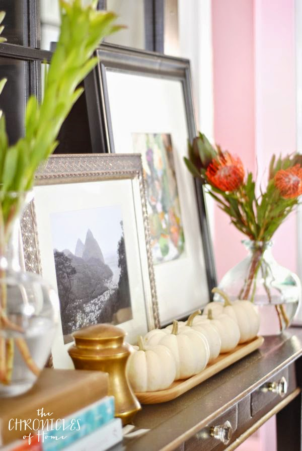 Fresh and colorful Fall home tour from The Chronicles of Home