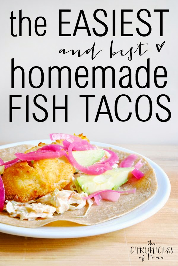 The easiest (and tastiest!) fish tacos to make at home
