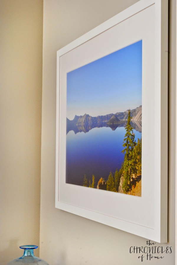 Gallery quality online framed photo of Crater Lake, Oregon