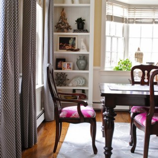 Dining Room Chairs, Reupholstered