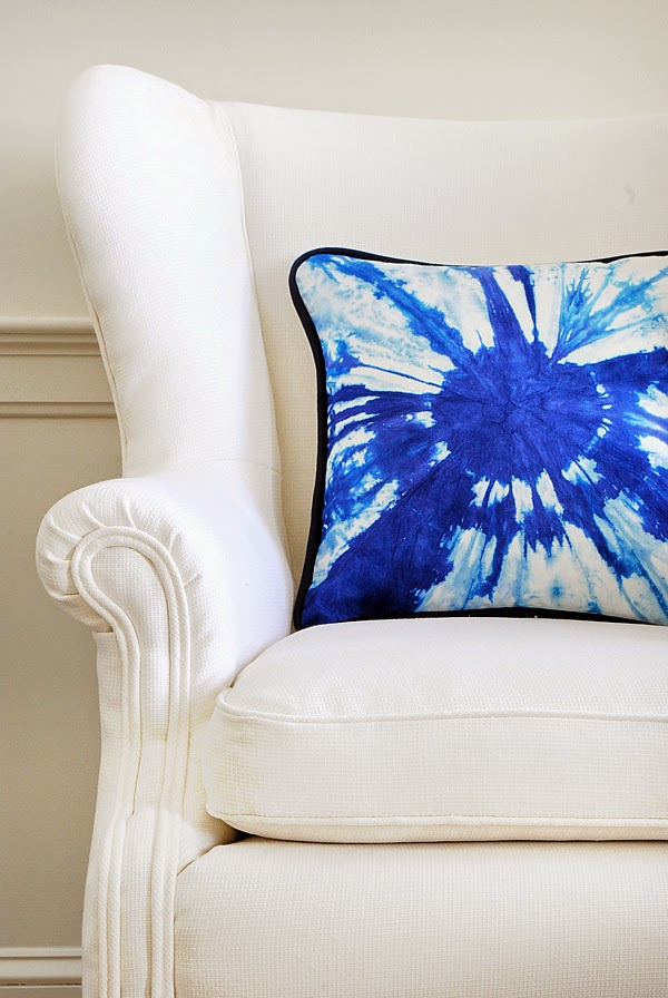 How to make a modern tie dye pillow