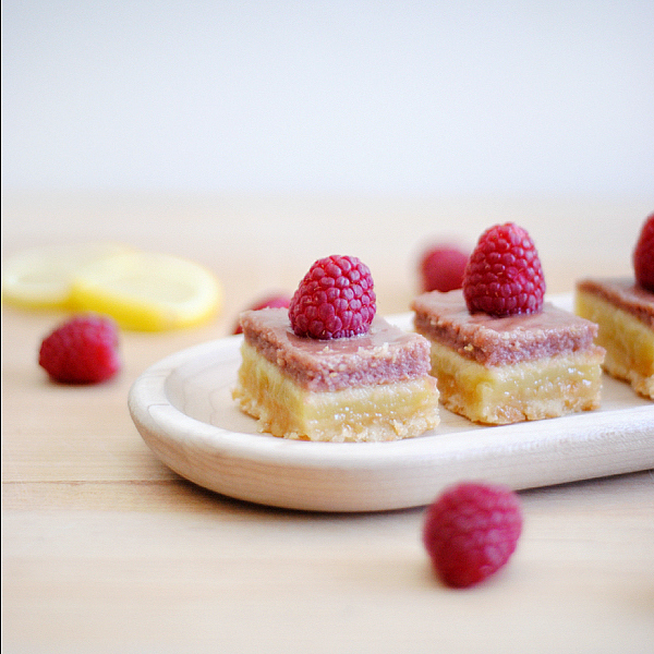 coconut raspberry lemon bars squares3