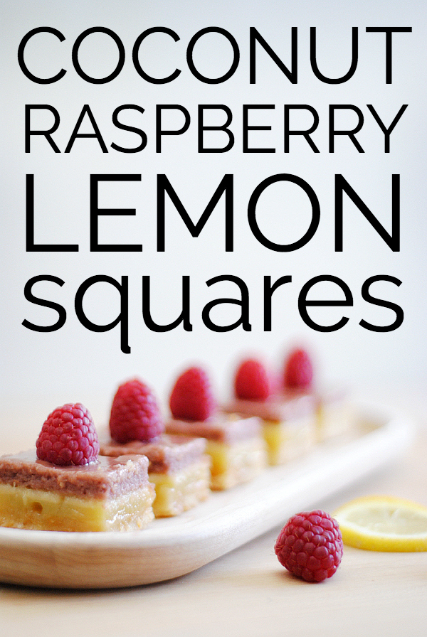 coconut raspberry lemon bars squares4