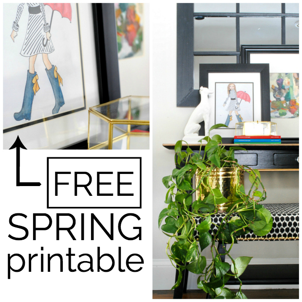 Free spring printable from The Chronicles of Home