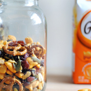 Easy Goldfish® Cracker Snack Mix + $100 Giveaway!