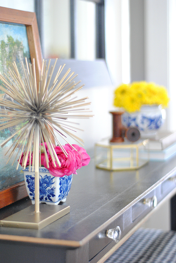 add spring to your home with simple flower arrangements