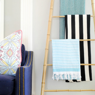 DIY Bamboo Ladder
