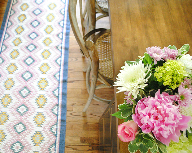 Geometric colorful kitchen runner10