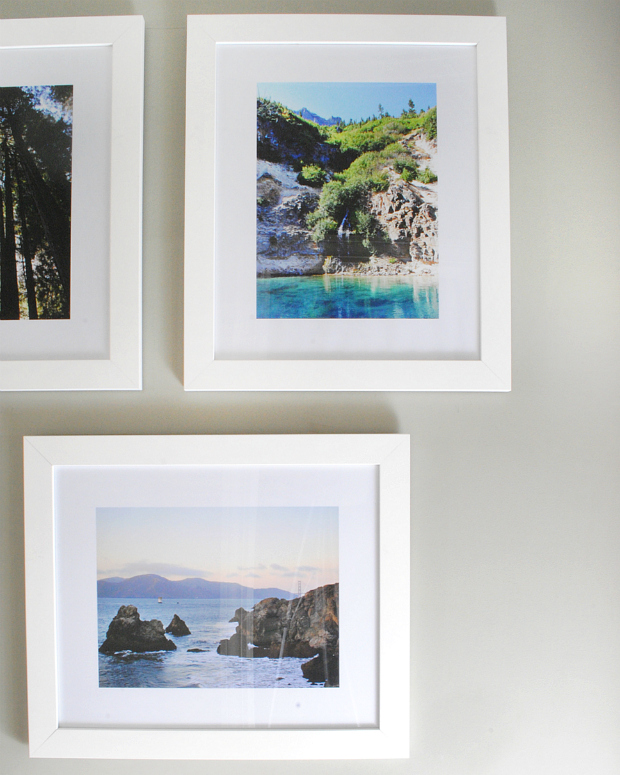 affordable custom framing for a gallery wall