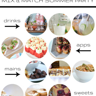 Mix and Match Summer Party Ideas