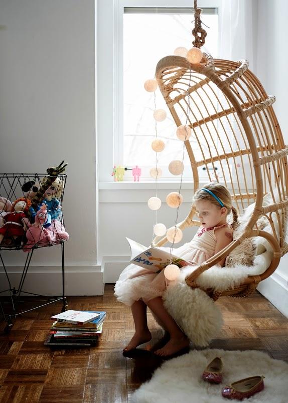 Splurge Vs Save Rattan Hanging Chairs Sheepskin Rugs And Wedding Blanket Pillows