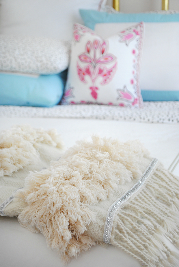 DIY Moroccan wedding blanket1