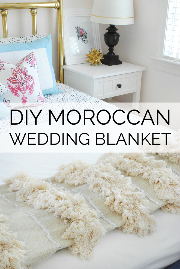 Diy Moroccan Wedding Blanket4