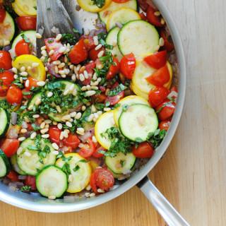 Quick Zucchini and Tomato Sauté – Delicious Zucchini Recipe!