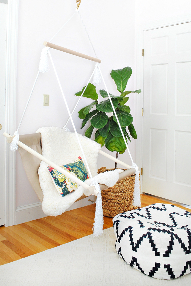 Ordinaire DIY Hanging Hammock Chair