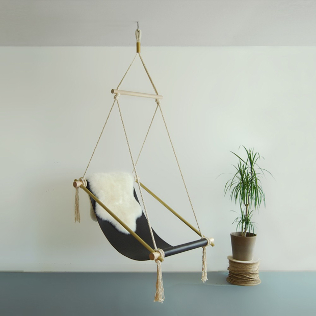 diy hanging hammock chair the chronicles of home. Black Bedroom Furniture Sets. Home Design Ideas