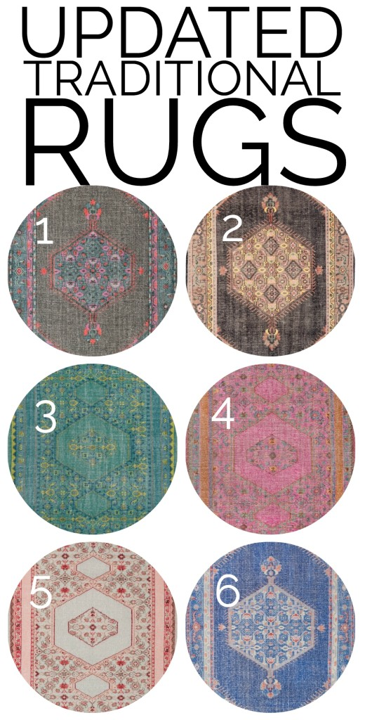 Updated Traditional Rugs
