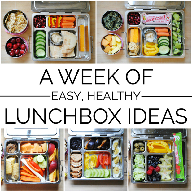 week of easy healthy lunchbox ideas the chronicles of home