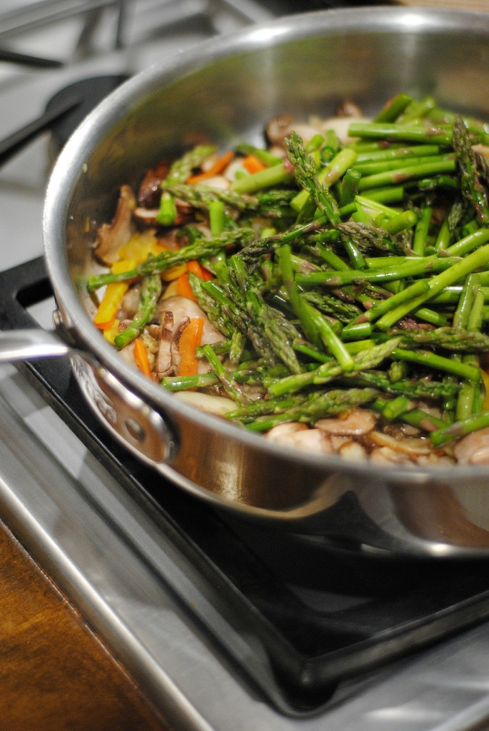 Homemade easy and healthy Chinese food - you CAN do this at home! Great recipe for Chinese vegetables and rice.