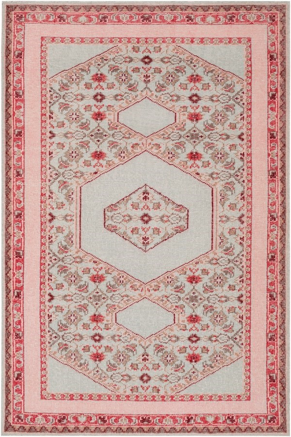 rug gray pink