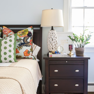How to Style a Nightstand – Three Ways!