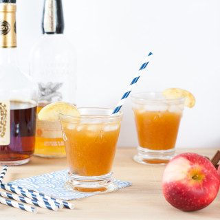 Apple Cider Cocktail (Sidecar)