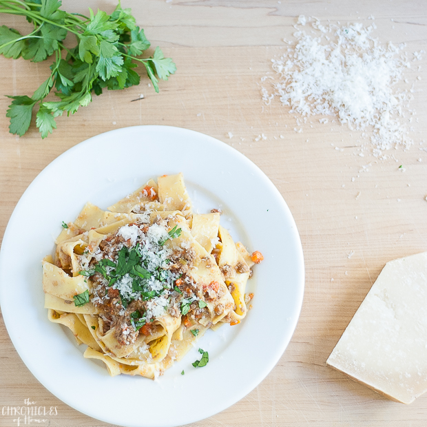 The absolute best, most spectacularly delicious traditional bolognese sauce you've ever had!